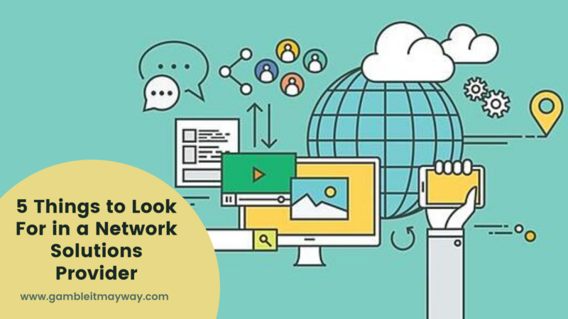 All about Network Solutions Provider